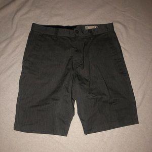Volcom slim fit gray shorts 33 EUC